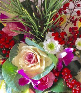1月の盛り花