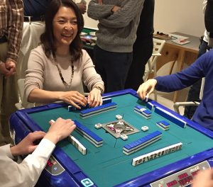 勝間和代さんのゆるい麻雀大会