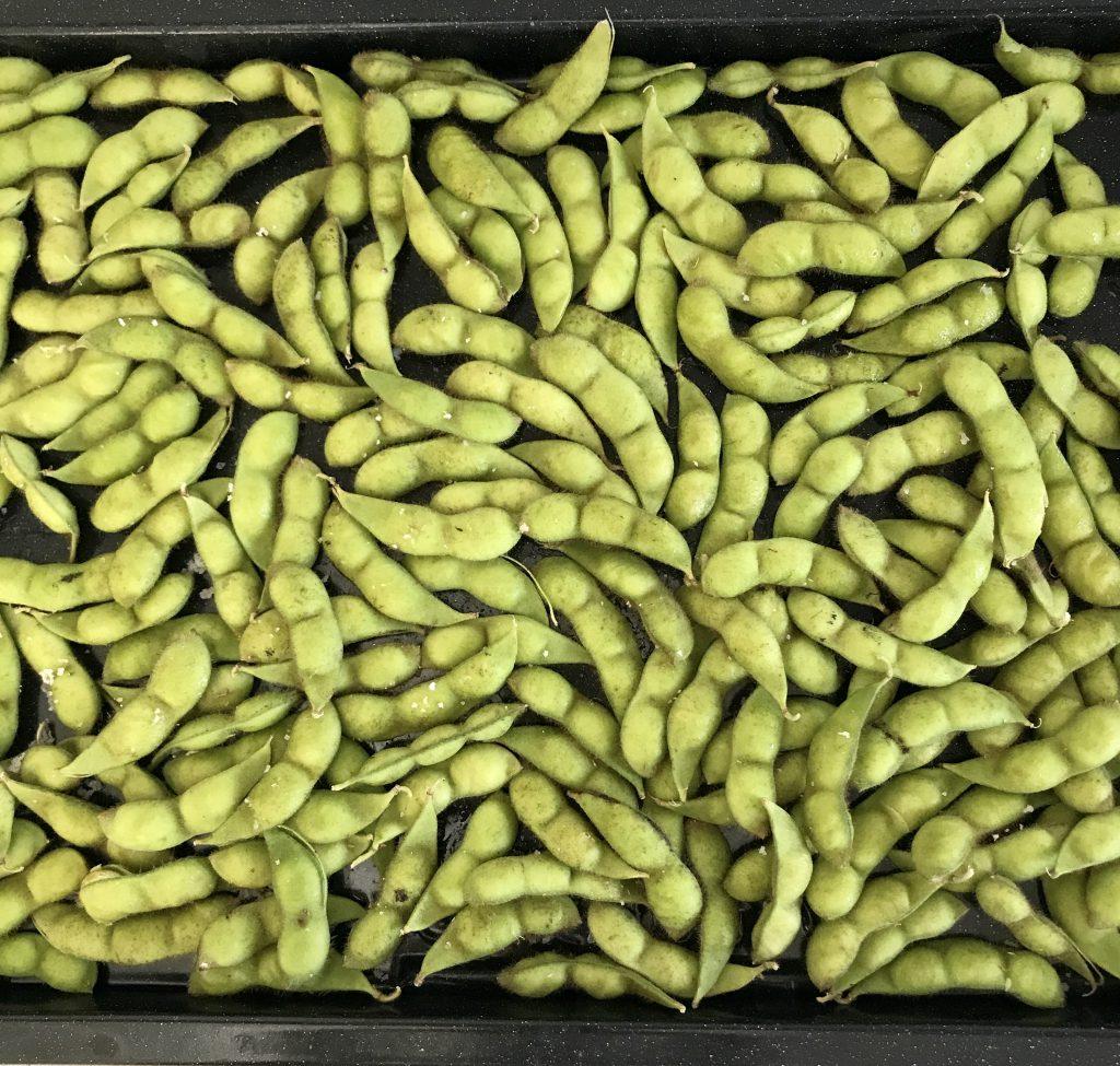 枝豆をヘルシオで茹でる