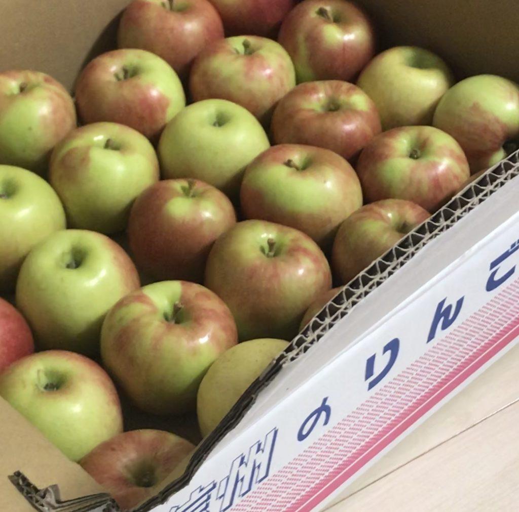 メルカリでりんごを購入