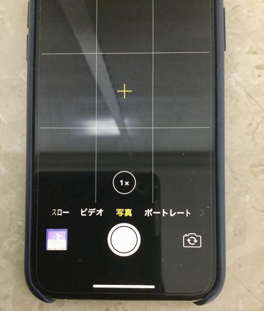 iPhoneカメラのグリッド