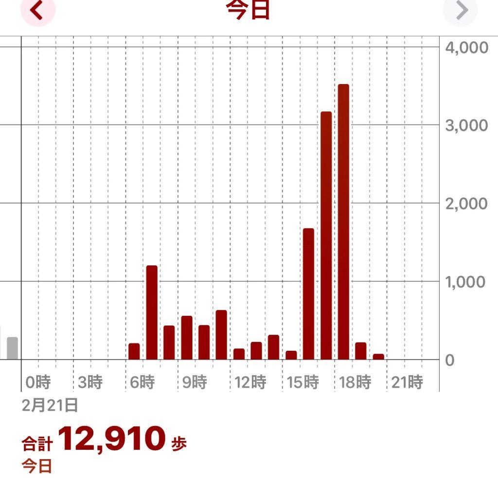 10000歩ウォーキング