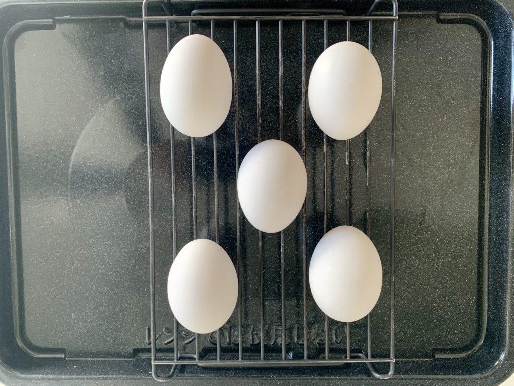 ヘルシオで温泉卵