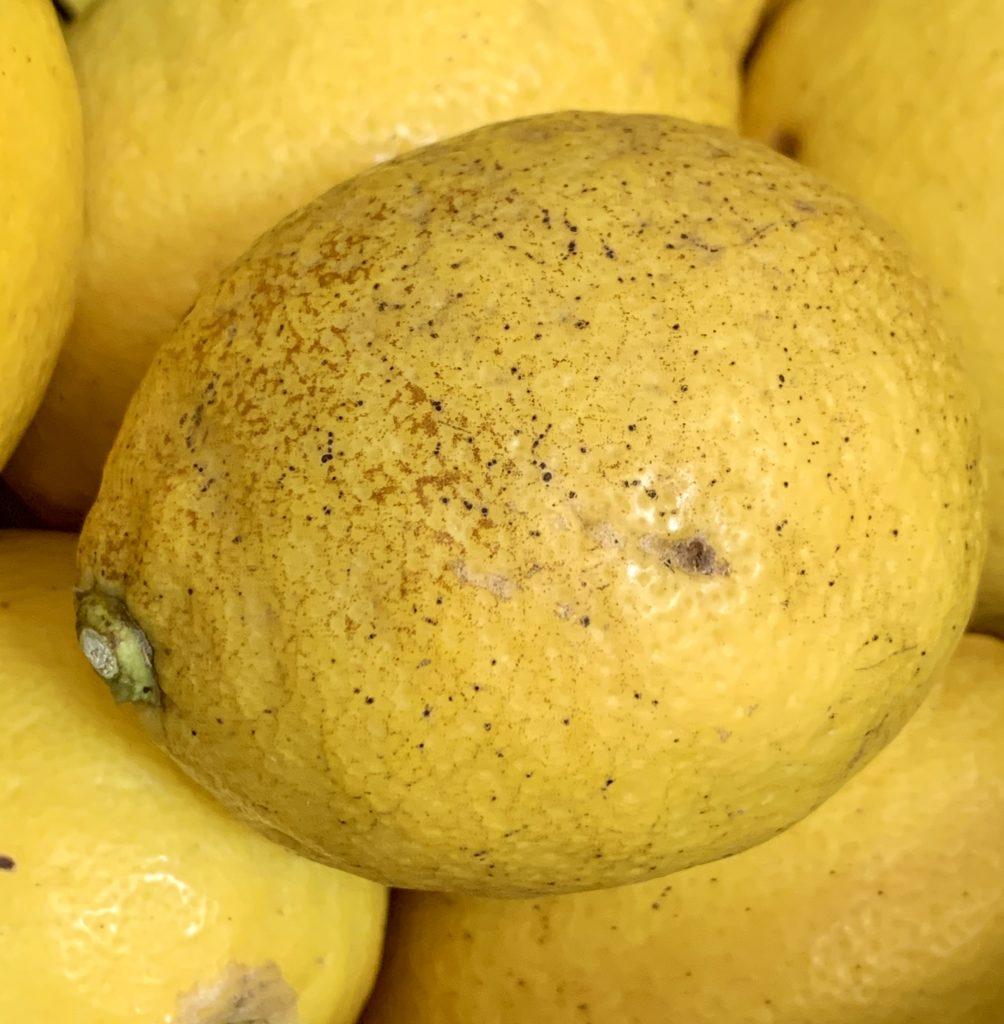 低農薬レモン
